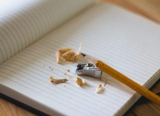 Ik schrijf. Omdat het moet.
